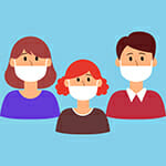 People-in-medical-face-mask-or-family-Graphics-3791188-1